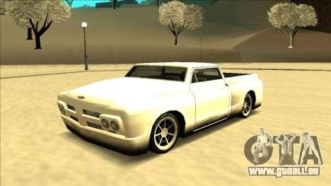 Slamvan Final pour GTA San Andreas sur la vue arrière gauche