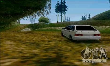 2114 Ala Dubaï pour GTA San Andreas sur la vue arrière gauche