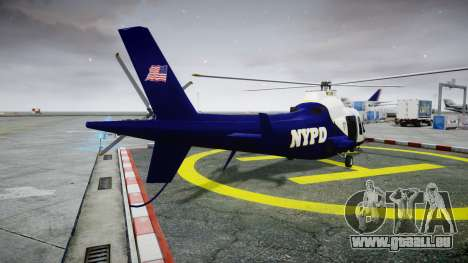 Buckingham Swift NYPD für GTA 4 hinten links Ansicht