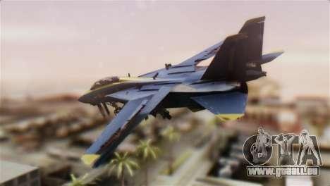 F-14A Tomcat Blue Angels für GTA San Andreas linke Ansicht