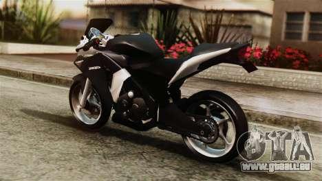 Honda CBR250R pour GTA San Andreas laissé vue