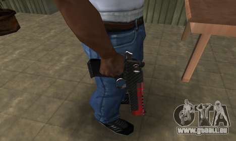 Red Tiger Deagle für GTA San Andreas zweiten Screenshot