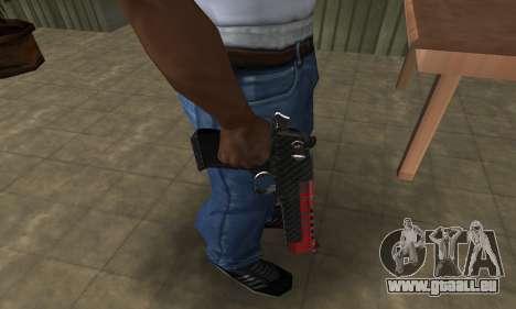 Red Tiger Deagle pour GTA San Andreas deuxième écran
