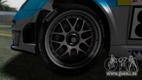 Porsche 911 GT3-RSR für GTA San Andreas zurück linke Ansicht