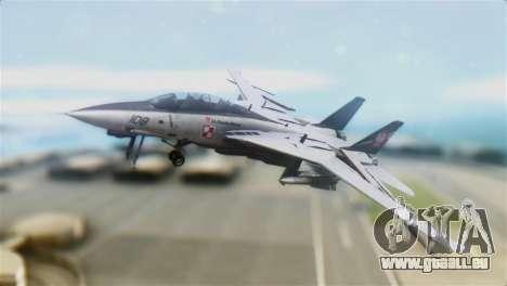 F-14D Super Tomcat Polish Navy pour GTA San Andreas