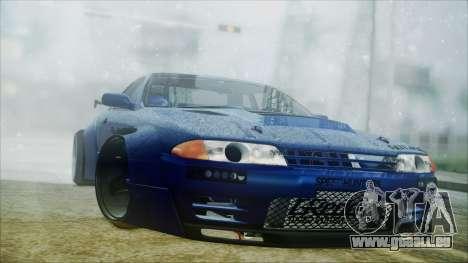 Nissan Skyline GT-R R32 Battle Machine pour GTA San Andreas laissé vue