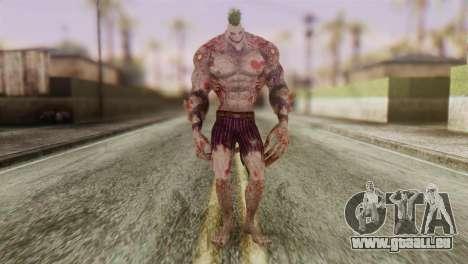 Titan Powered Joker from Batman Arkham Asylum für GTA San Andreas zweiten Screenshot