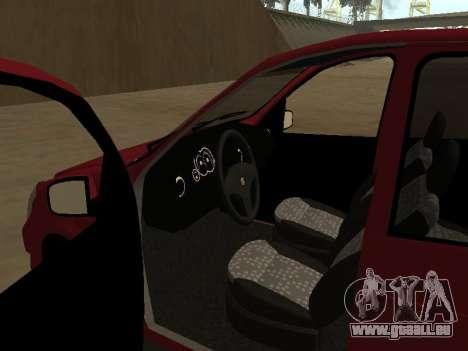 Suzuki Fun 2009 für GTA San Andreas Rückansicht