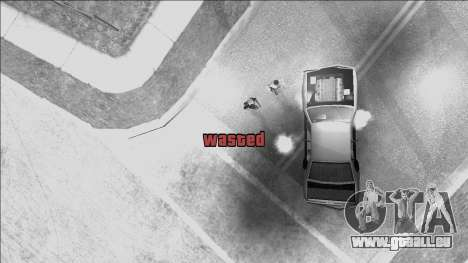 GTA V Wasted and Busted Sound [CLEO] für GTA San Andreas zweiten Screenshot