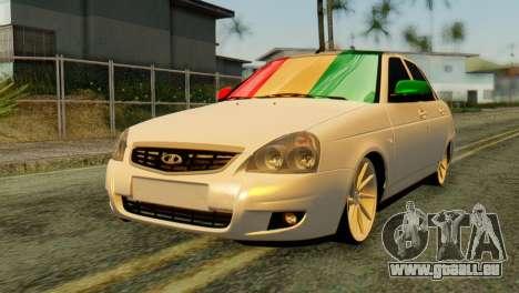 VAZ 2170 Italia für GTA San Andreas
