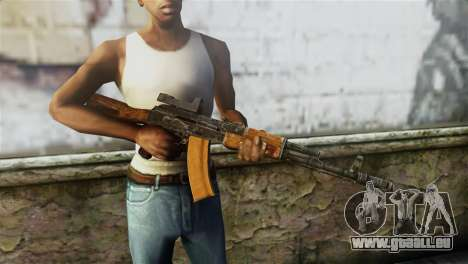 AK-74 Sight für GTA San Andreas dritten Screenshot