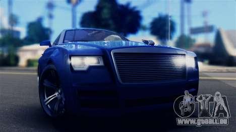 GTA 5 Enus Windsor IVF pour GTA San Andreas vue de droite