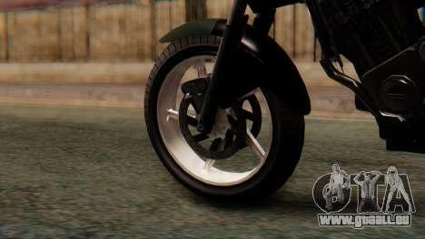 Bajaj Rouser 135 Stunt pour GTA San Andreas sur la vue arrière gauche