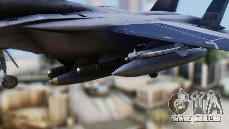 F-22J Japan Air-Self Defense Force pour GTA San Andreas vue de droite