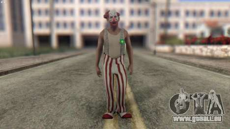 Clown Skin from Left 4 Dead 2 pour GTA San Andreas
