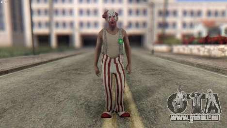 Clown Skin from Left 4 Dead 2 für GTA San Andreas
