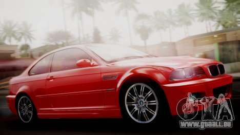 BMW M3 E46 v2 pour GTA San Andreas