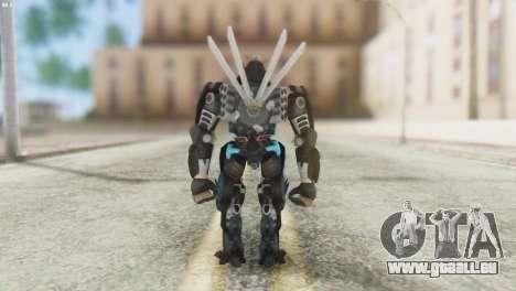 Drift Skin from Transformers pour GTA San Andreas troisième écran
