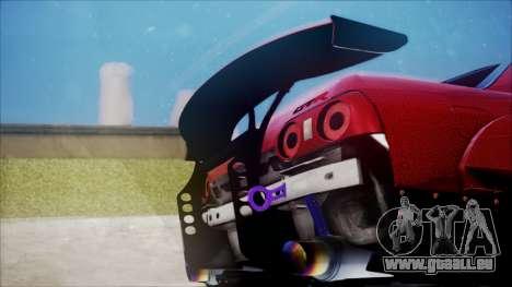 Nissan Skyline GT-R R32 Battle Machine pour GTA San Andreas vue intérieure
