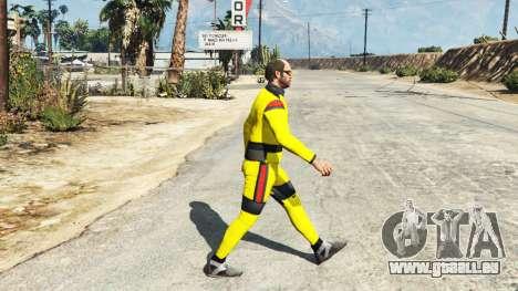 Le costume de karaté pour GTA 5