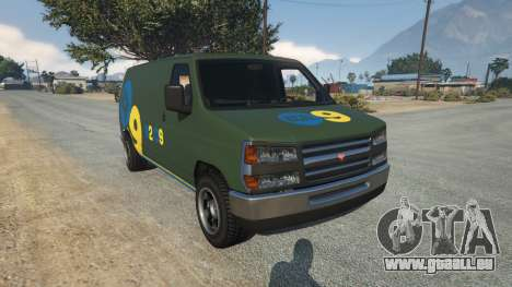 Bravado Rumpo KCAL v0.2 pour GTA 5
