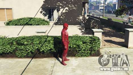 Le Costume De Flash pour GTA 5