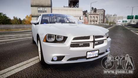 Dodge Charger Traffic Patrol Unit [ELS] bl für GTA 4