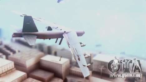 Boeing B-52H Stratofortress pour GTA San Andreas laissé vue