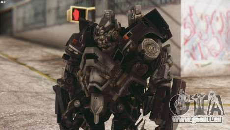 Ironhide Skin from Transformers v3 pour GTA San Andreas