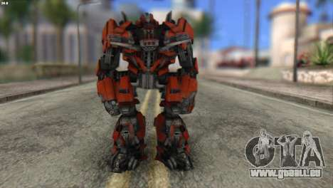 Autobot Titan Skin from Transformers für GTA San Andreas