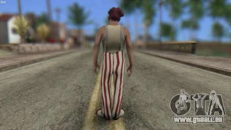 Clown Skin from Left 4 Dead 2 für GTA San Andreas zweiten Screenshot