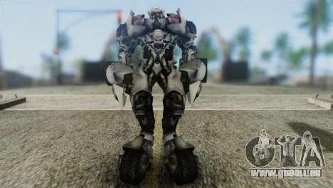 Sideswipe Skin from Transformers v2 für GTA San Andreas zweiten Screenshot