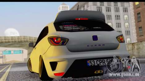 Seat Ibiza pour GTA San Andreas laissé vue