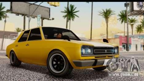 GTA 5 Vulcar Warrener SA Style pour GTA San Andreas