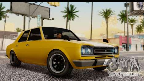 GTA 5 Vulcar Warrener SA Style für GTA San Andreas