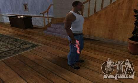 Black Lines Deagle pour GTA San Andreas troisième écran