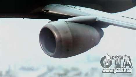 Boeing 737-800 Royal Air Force für GTA San Andreas rechten Ansicht