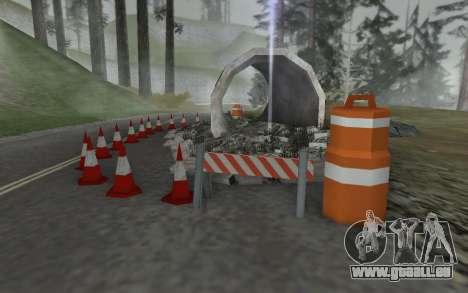 Straßen-Reparatur für GTA San Andreas zweiten Screenshot