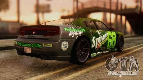 GTA 5 Bravado Buffalo Sprunk IVF für GTA San Andreas linke Ansicht