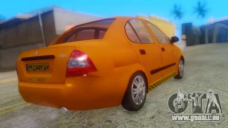 Tiba Taxi v1 pour GTA San Andreas laissé vue