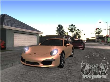 Simple compteur de vitesse pour GTA San Andreas deuxième écran