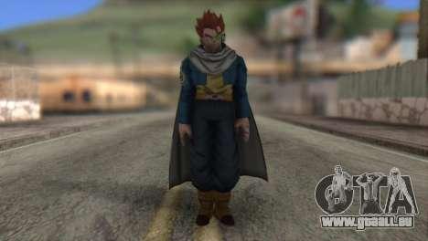 Dragon Ball Xenoverse Mysterious Warrior für GTA San Andreas