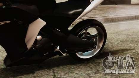 Honda CBR250R für GTA San Andreas Rückansicht