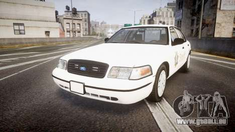 Ford Crown Victoria Sacramento Sheriff [ELS] pour GTA 4