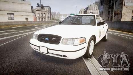 Ford Crown Victoria Sacramento Sheriff [ELS] pour GTA 4