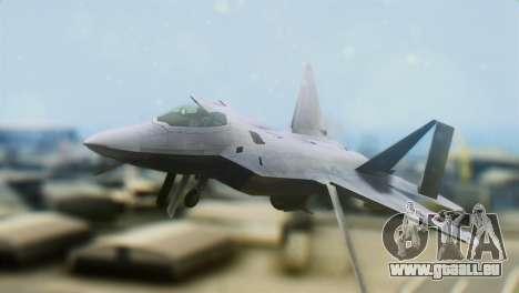 F-15DJ (E) JASDF Aggressor 32-8081 für GTA San Andreas Rückansicht