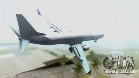 Boeing 737-800 Polskie Linie Lotnicze LOT pour GTA San Andreas laissé vue