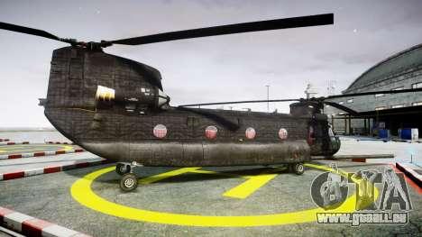 Boeing CH-47G Chinook [EPM] für GTA 4 linke Ansicht