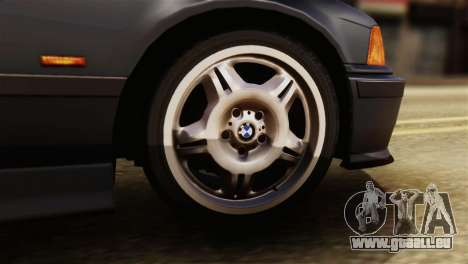 BMW 320i für GTA San Andreas zurück linke Ansicht