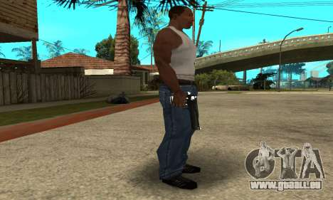 Cool Black Deagle für GTA San Andreas zweiten Screenshot
